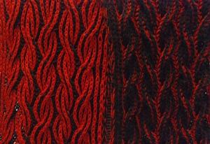 Flaming scarf