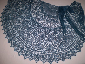 Secret Garden Shawl
